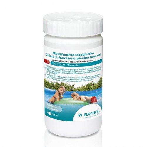 Bayrol 5 fonction piscine hors-sol 1kg