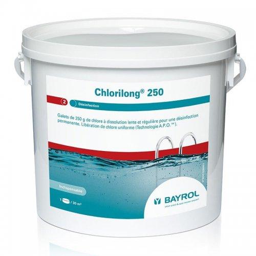 Chlorilong 250 Bayrol - chlore lent