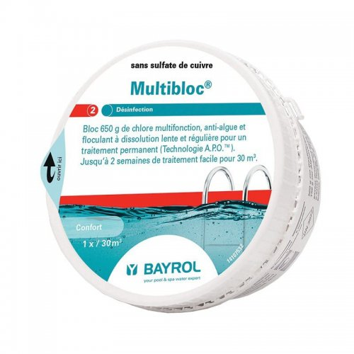 Multibloc Bayrol - chlore lent multiactions
